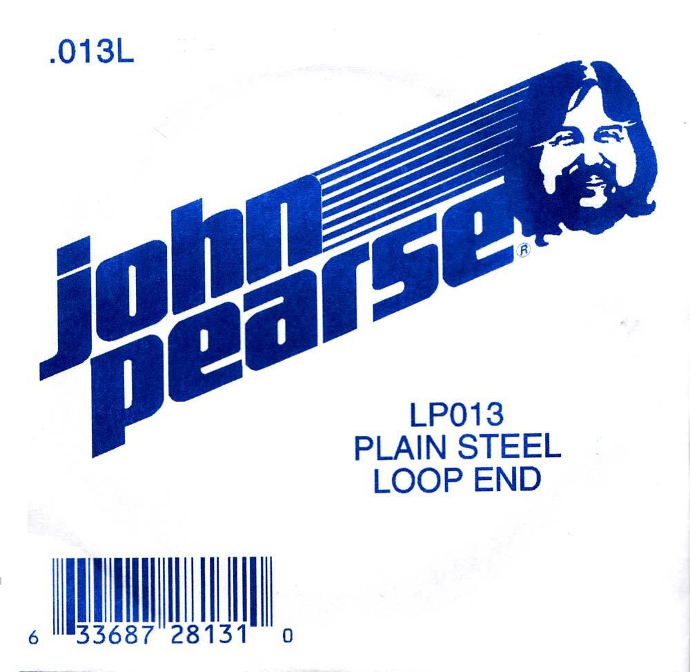 John Pearse Plain loop end string .013