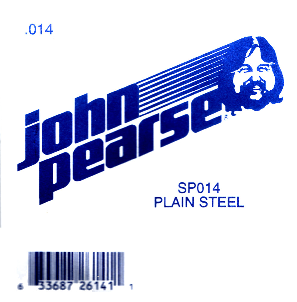 John Pearse Plain Ball end string .014