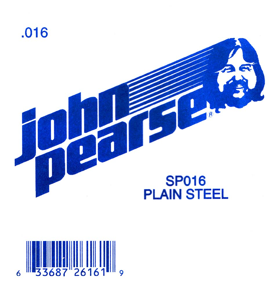 John Pearse Plain Ball end string .016