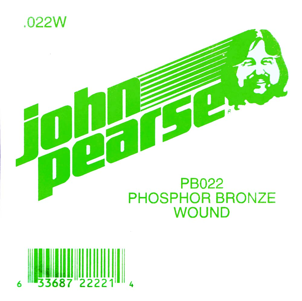 John Pearse Phosphor bronze ball end .022