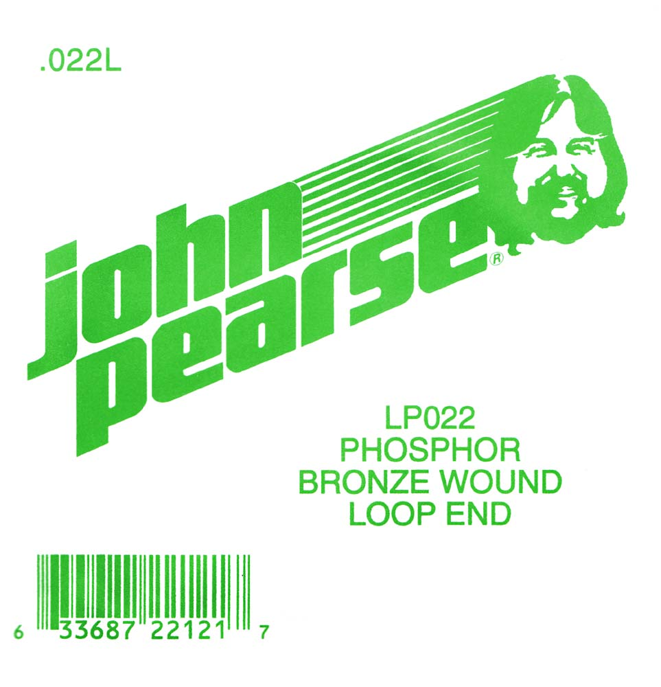John Pearse Phosphor bronze loop end .022