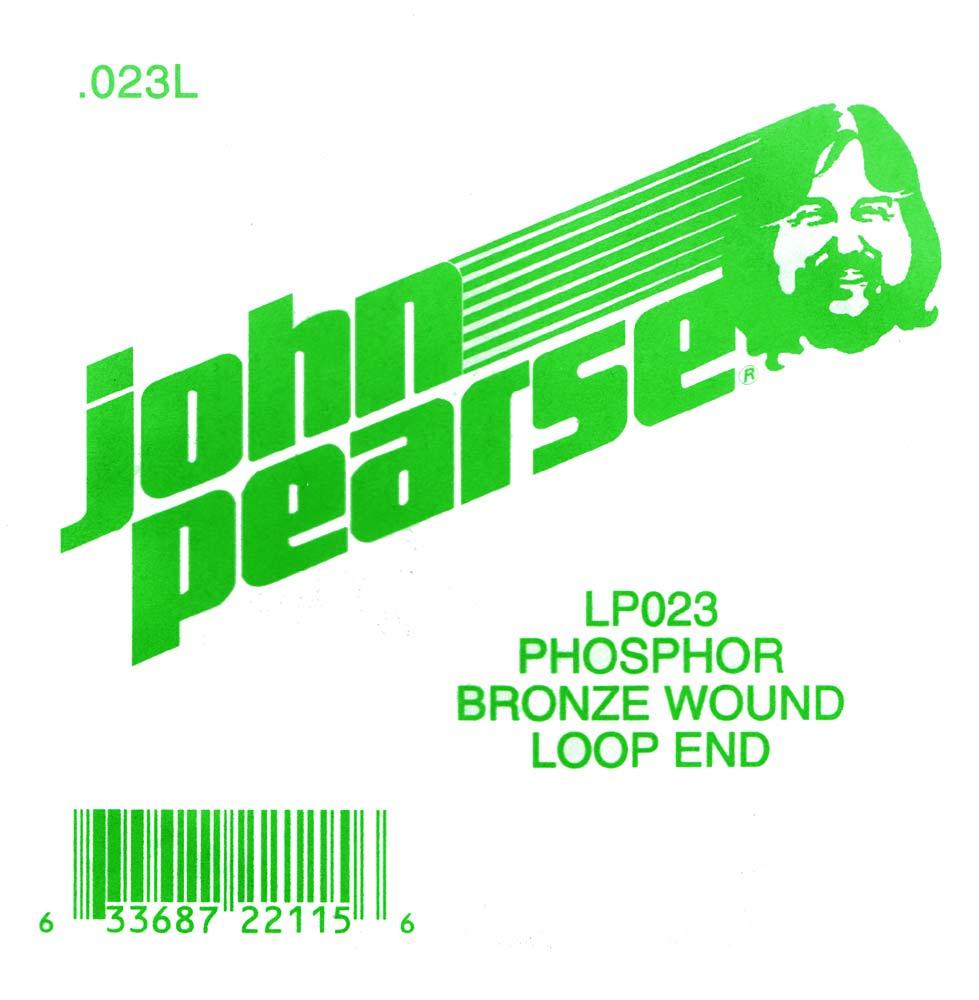 John Pearse Phosphor bronze loop end .023
