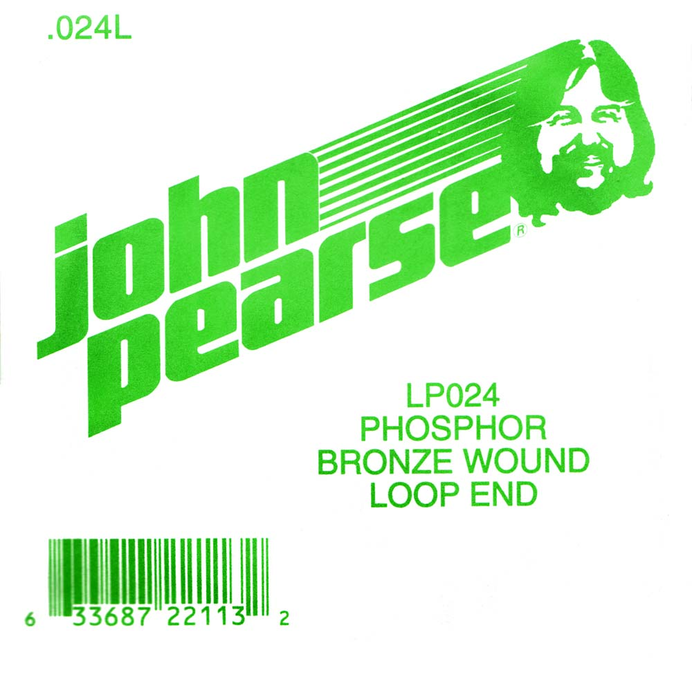John Pearse Phosphor bronze loop end .024