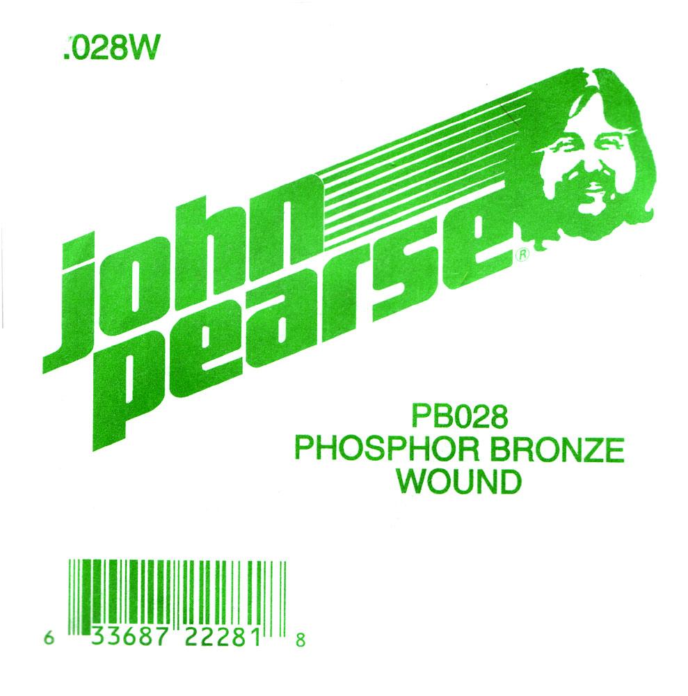 John Pearse Phosphor bronze ball end .028