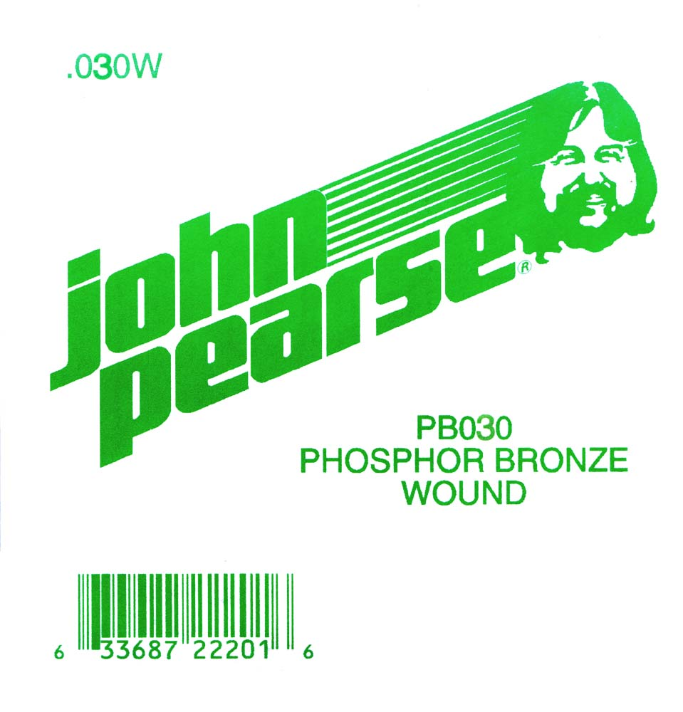 John Pearse Phosphor bronze ball end .030