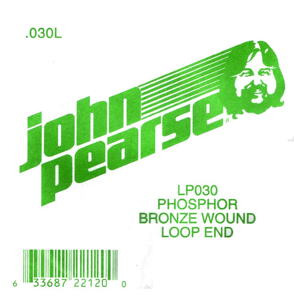 John Pearse Phosphor bronze loop end .030