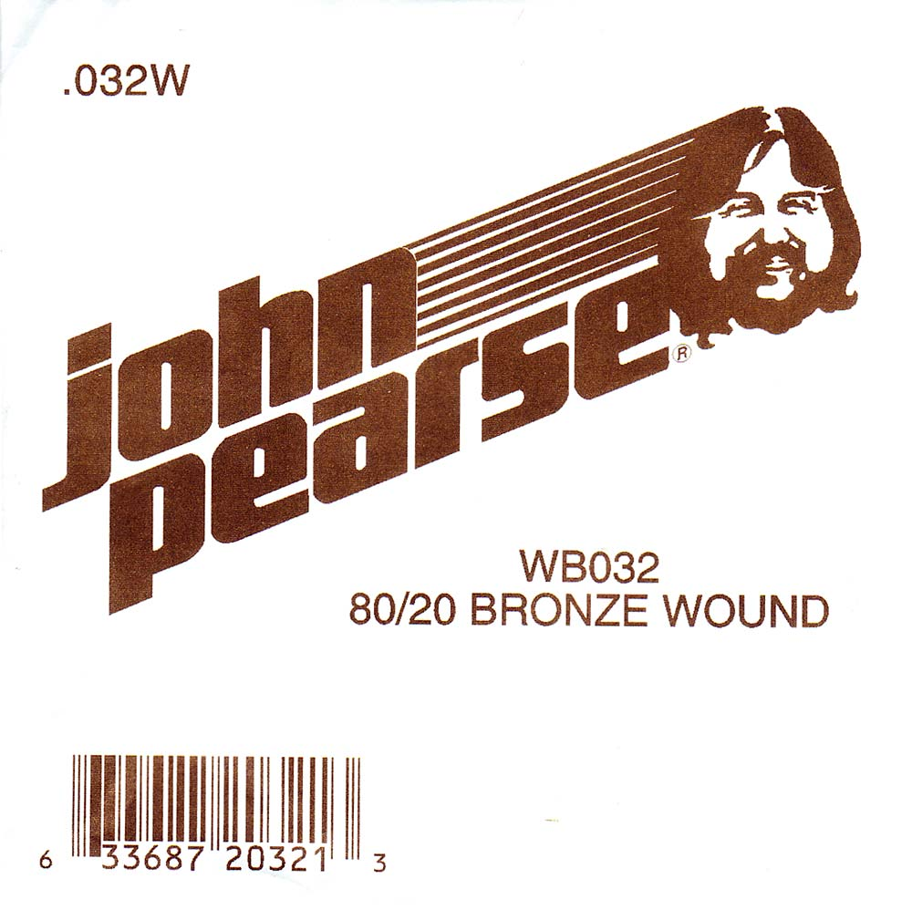John Pearse Bronze ball end string .032