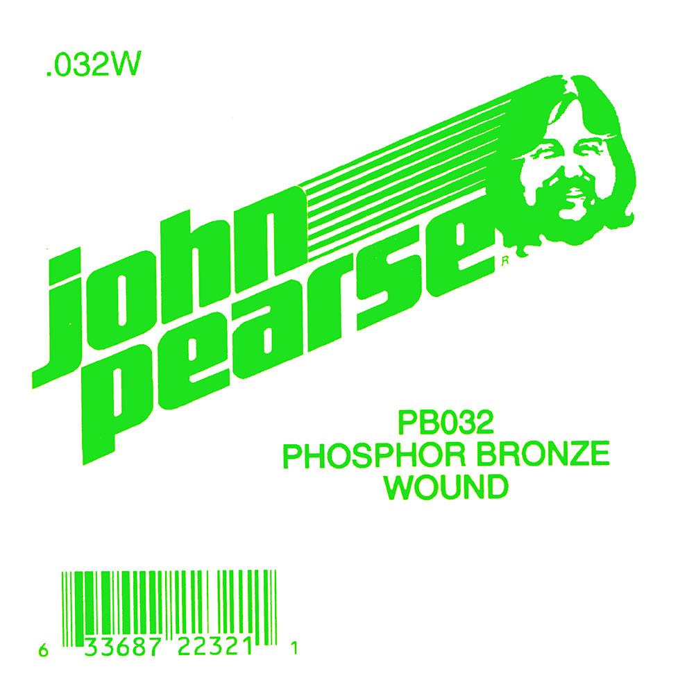 John Pearse Phosphor bronze ball end .032