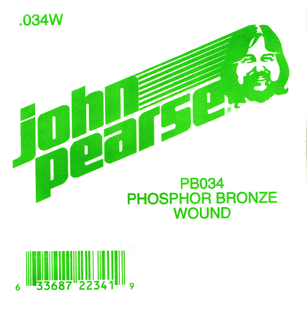John Pearse Phosphor bronze ball end .034