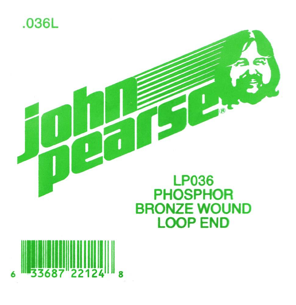 John Pearse Phosphor bronze loop end .036