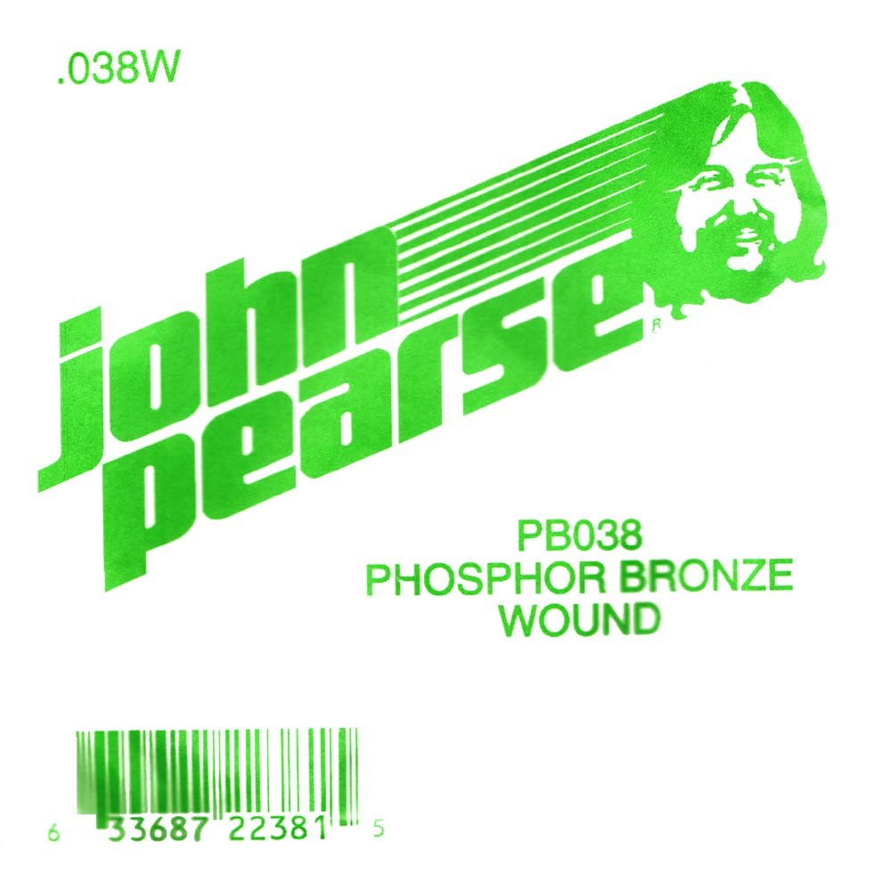 John Pearse Phosphor bronze ball end .038