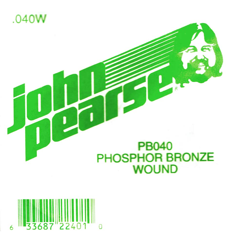 John Pearse Phosphor bronze ball end .040