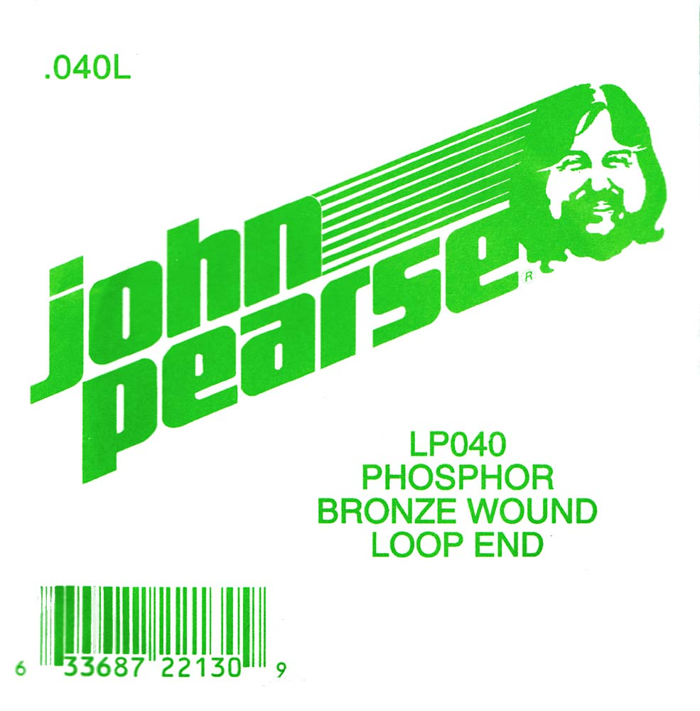John Pearse Phosphor bronze loop end .040