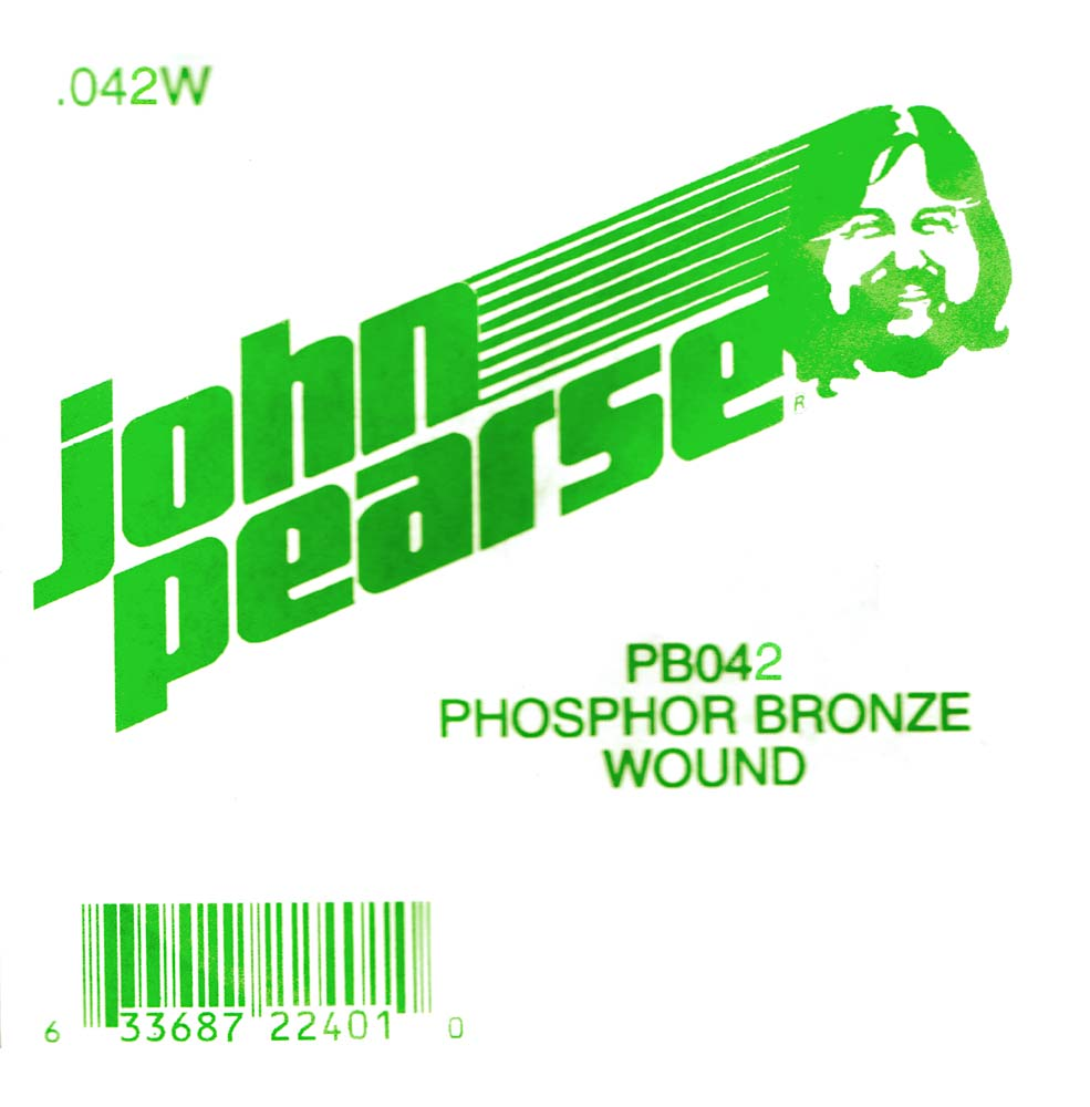 John Pearse Phosphor bronze ball end .042