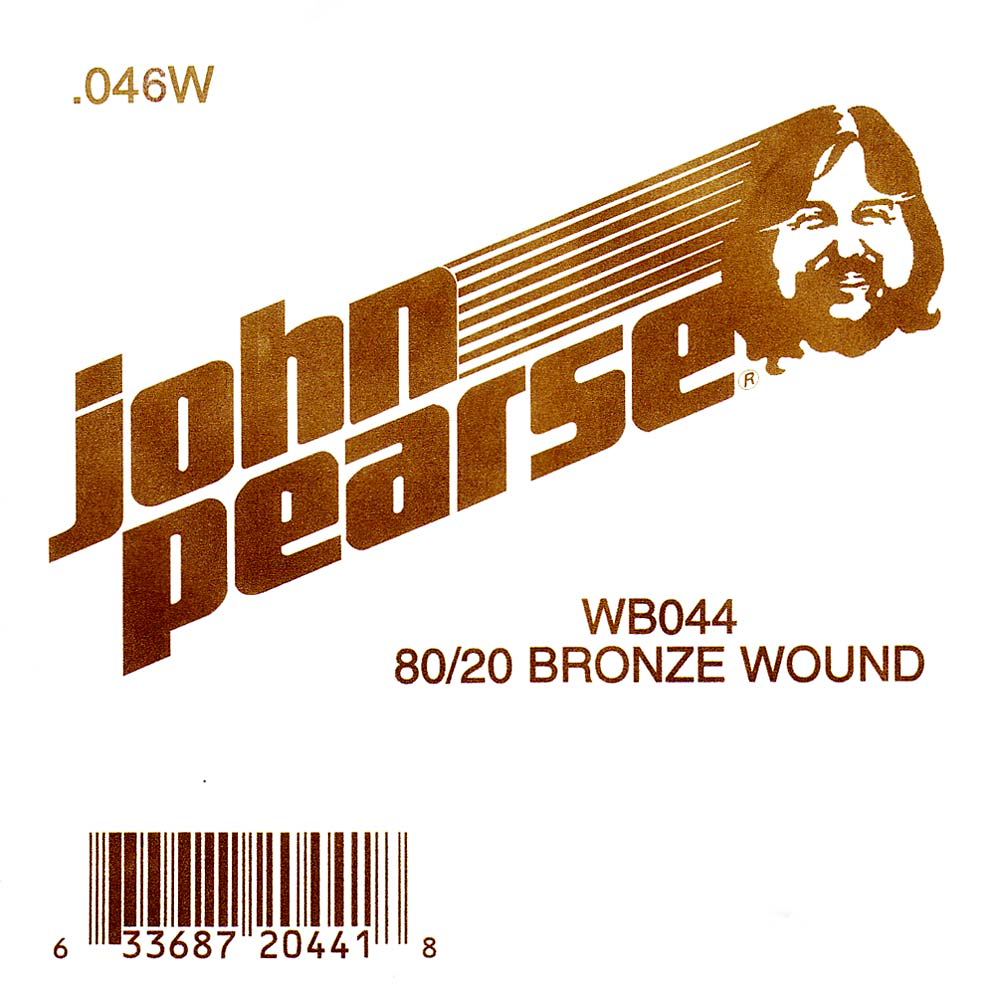 John Pearse Bronze ball end string .046