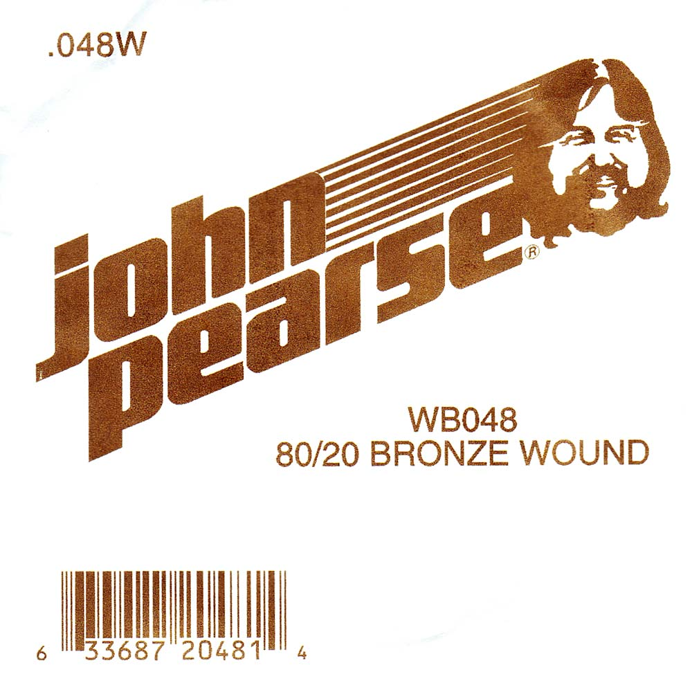 John Pearse Bronze ball end string .048