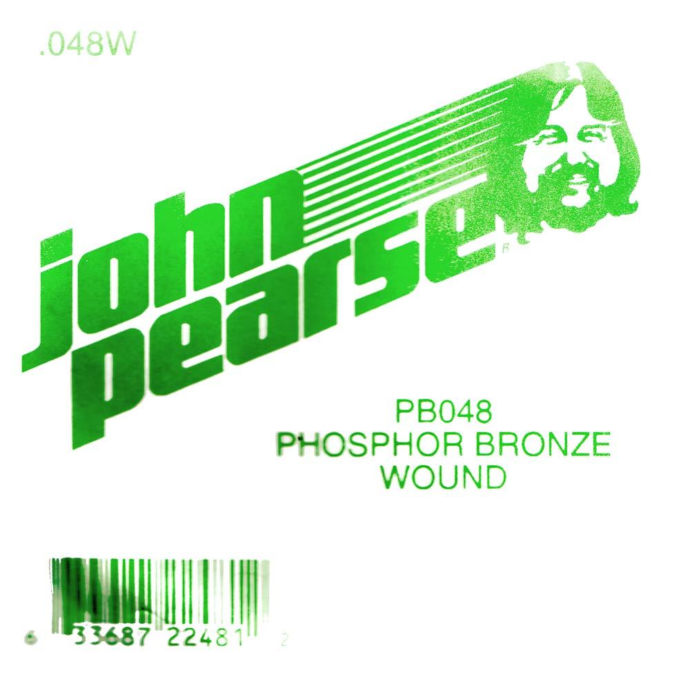 John Pearse Phosphor bronze ball end .048