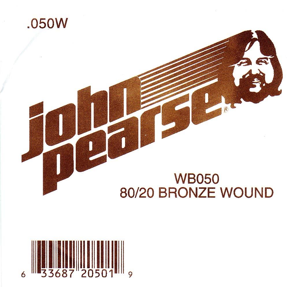 John Pearse Bronze ball end string .050