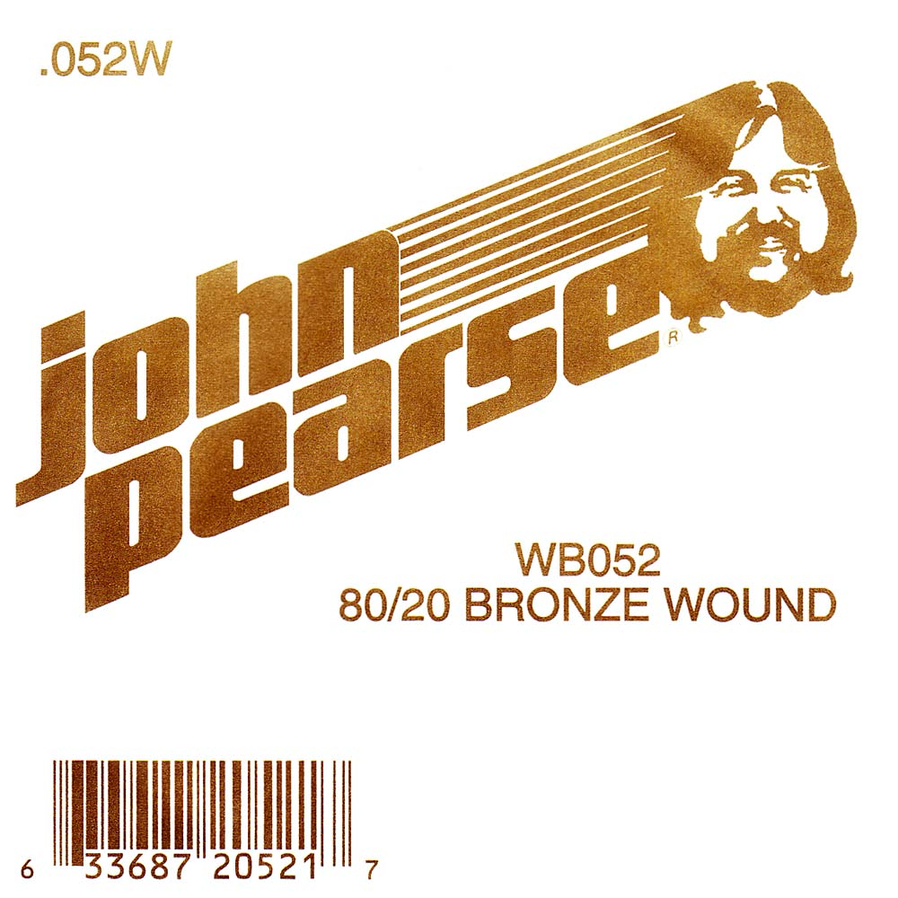 John Pearse Bronze ball end string .052