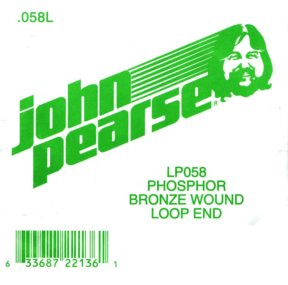 John Pearse Phosphor bronze loop end .058