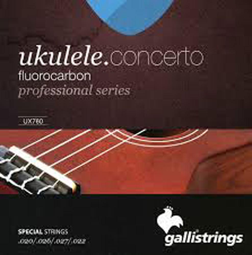 Galli UX-760 Uke Strings, Concert Fluorocar