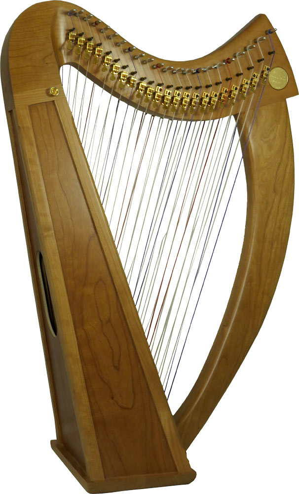 Stoney End BREA Double Strung 44 String Harp