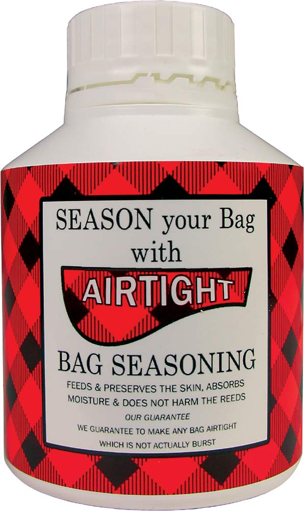 Airtight Seasoning for Bagpipe