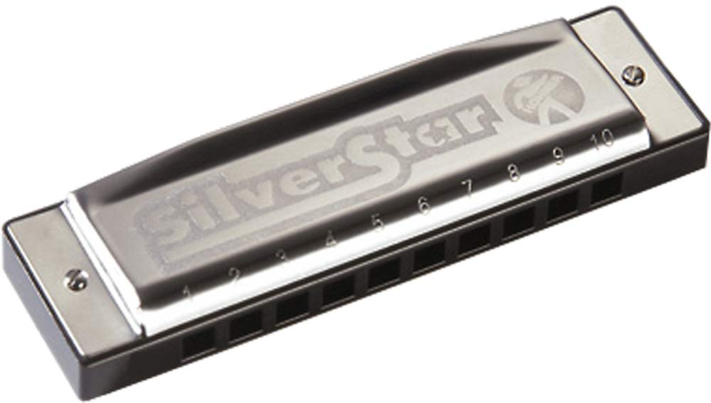Hohner Silver Star Harp in D