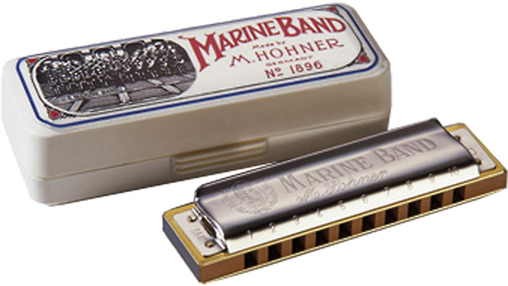 Hohner Marine Band Harp in C