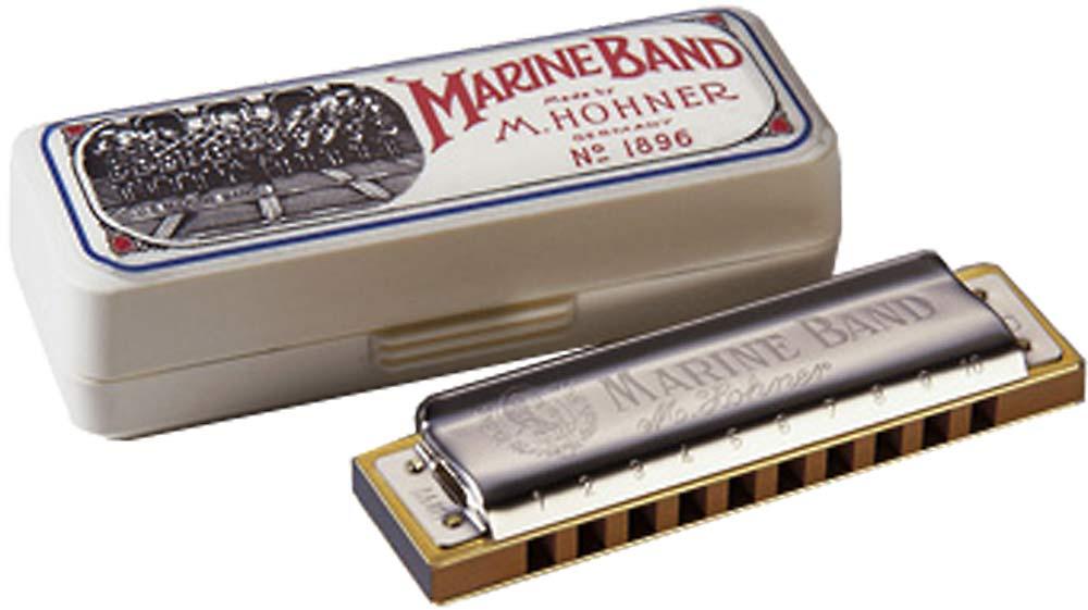 Hohner Marine Band Harp in F