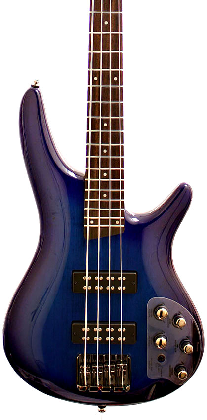 Ibanez SR370E Electric Bass Guitar, Saphire