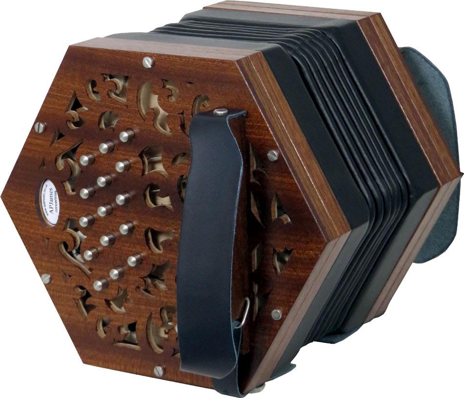 APJ Wood C/G Anglo Concertina
