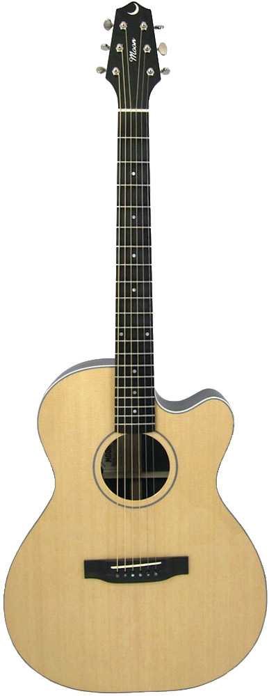 Moon 0002CE Acoustic Guitar
