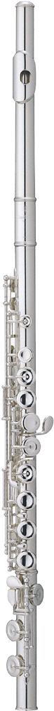Pearl 505E Quantz Flute, Silver Plated