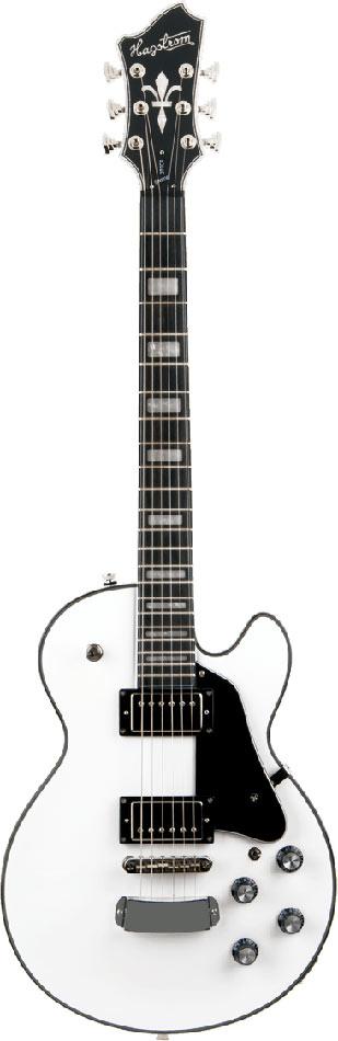 Hagstrom Guitars Super Swede Electric Guitar, White