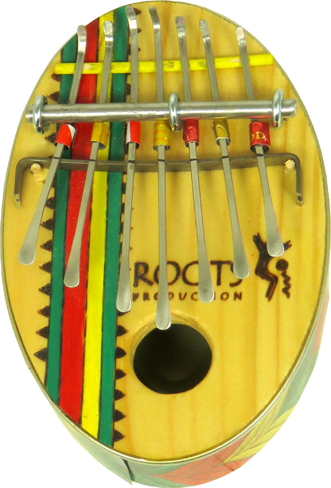 AfroZula 7 Note Thumb Piano