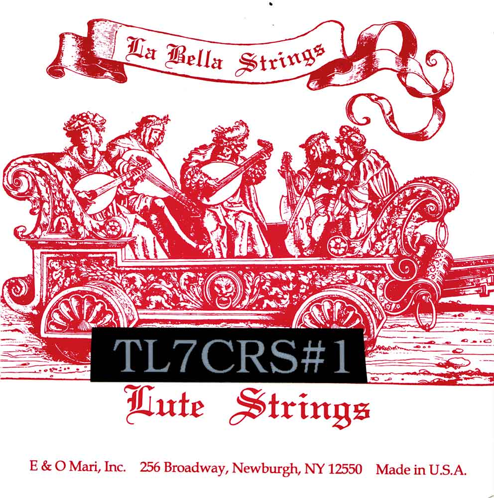 La Bella Lute Strings 7 course