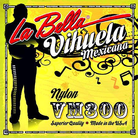 La Bella VM300 Vihuela Mexicana Strings