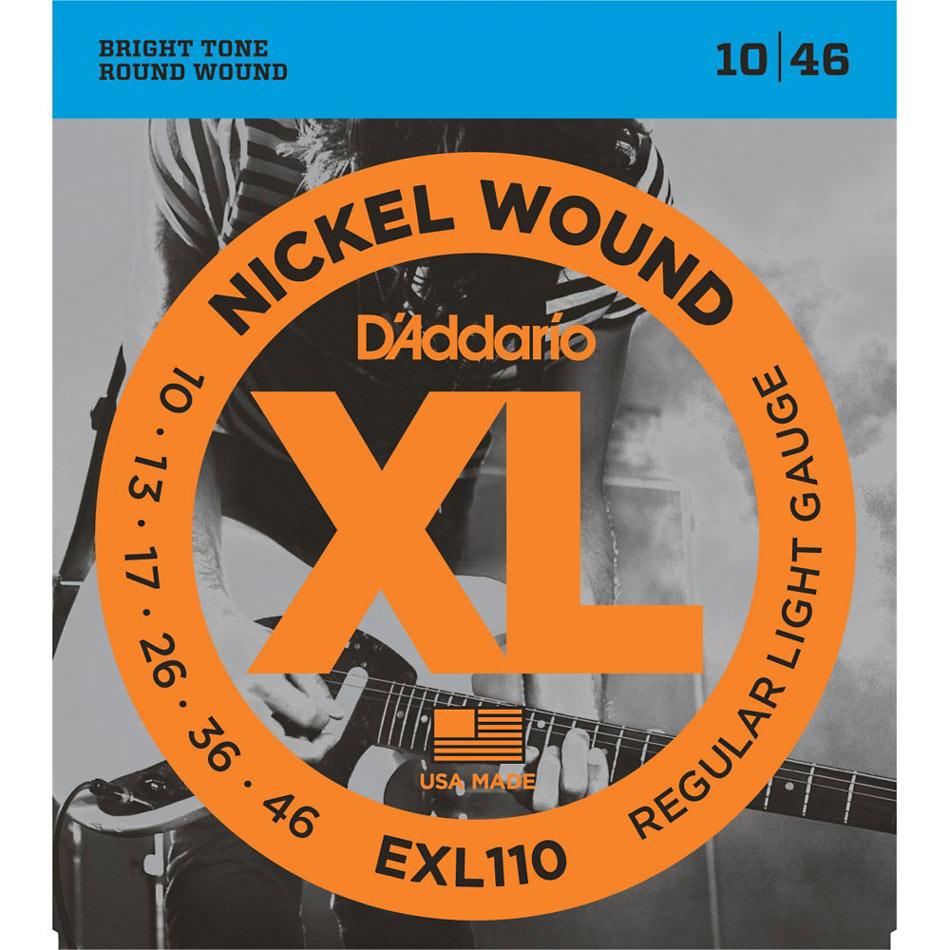 D'addario EXL110 Electric Guitar Strings