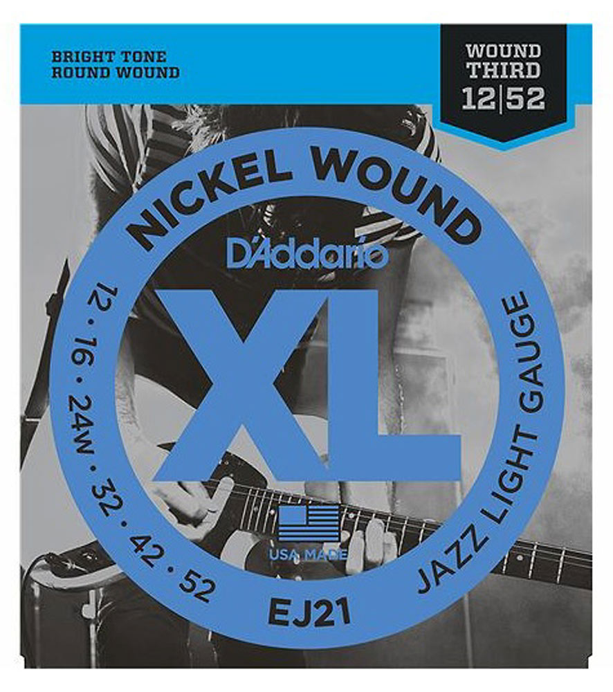 D'addario EJ21 Electric Guitar Strings