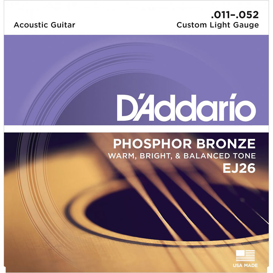 D'addario EJ13 Acoustic Guitar Strings