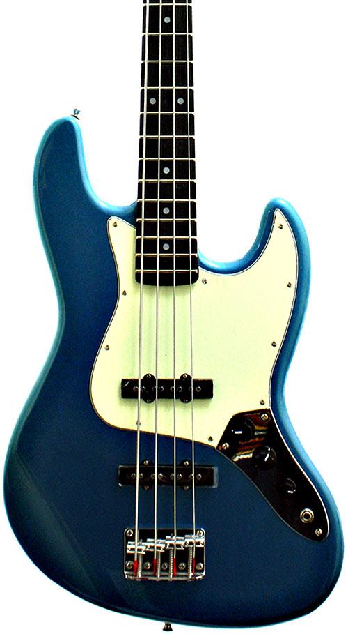 Sx Electric Guitars 8694BU Electric Bass JB, Blue