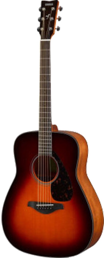 Yamaha FG800BS Guitar, Dreadnought, Sunburst