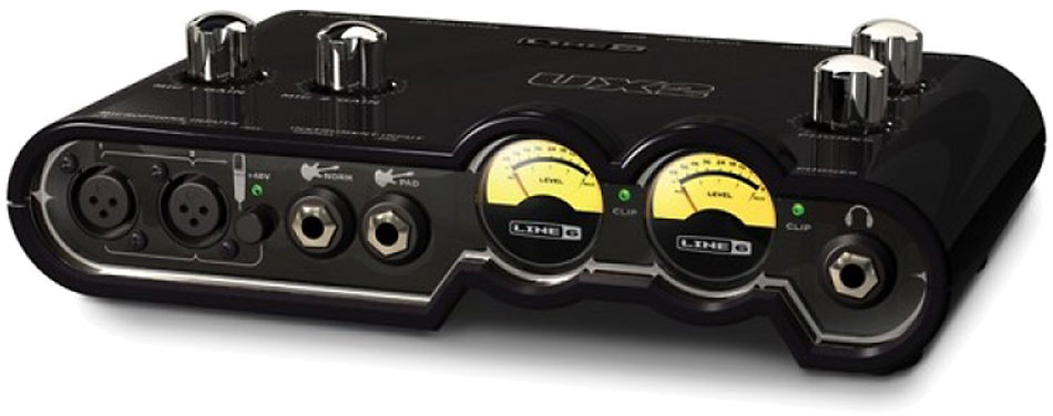 Line 6 Pod Studio UX-2 Dual Channel Audio Interface
