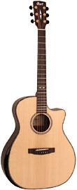 Cort GA-PF-BEVEL-NAT GA PF Guitar, Bevel, Natural