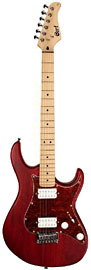 Cort G100-OPBC Electric Guitar, Black Cherry