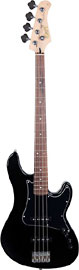 Cort GB34-JJ-BK Bass Guitar GB34 JJ Black