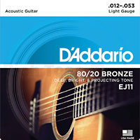 Guitar Strings, Bronze