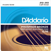 Guitar Strings, Phos Bronze