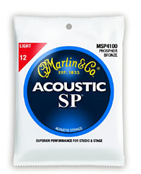 Martin SP Light String, Bronze